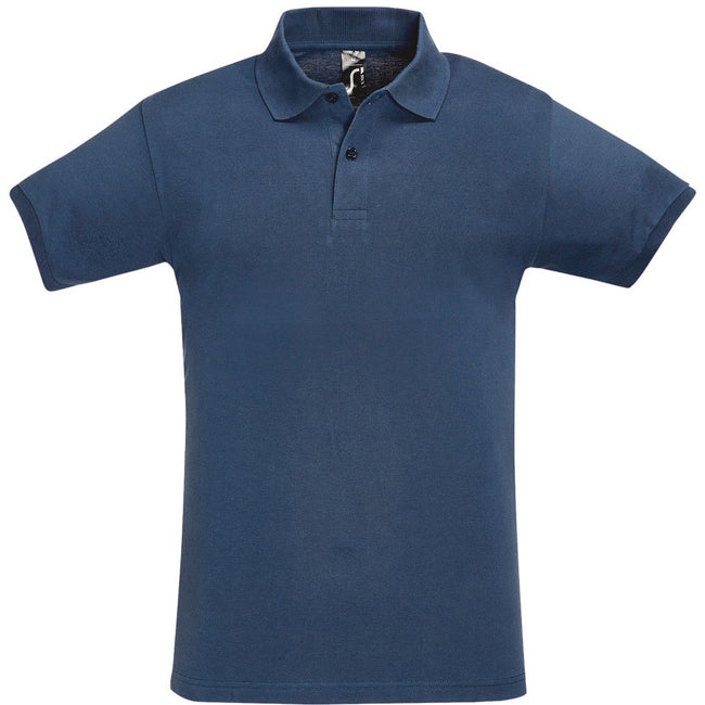 Bleu clair - Front - SOLS - Polo manches courtes PERFECT - Homme