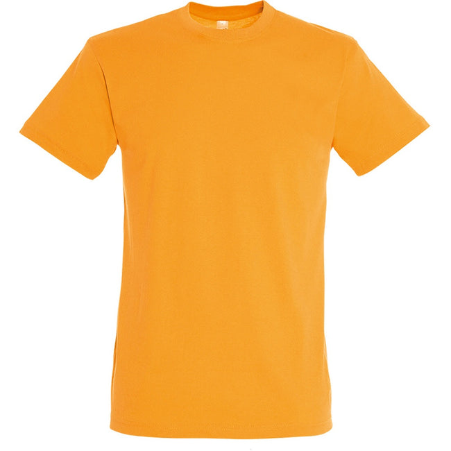 Orange - Back - SOLS - T-shirt REGENT - Homme