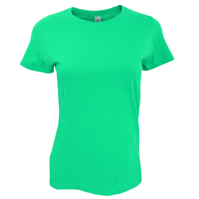 Emeraude - Back - SOLS - T-shirt manches courtes IMPERIAL - Femme