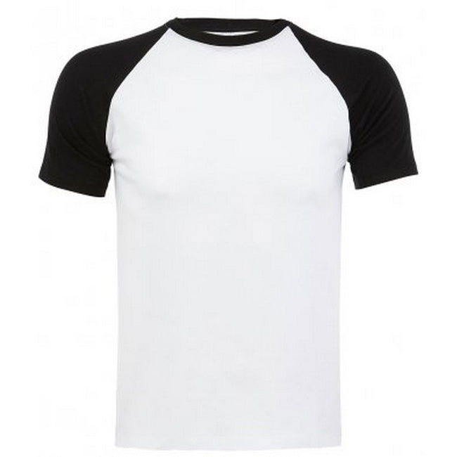 Jaune-vert - Front - SOLS - T-shirt manches courtes FUNKY - Homme