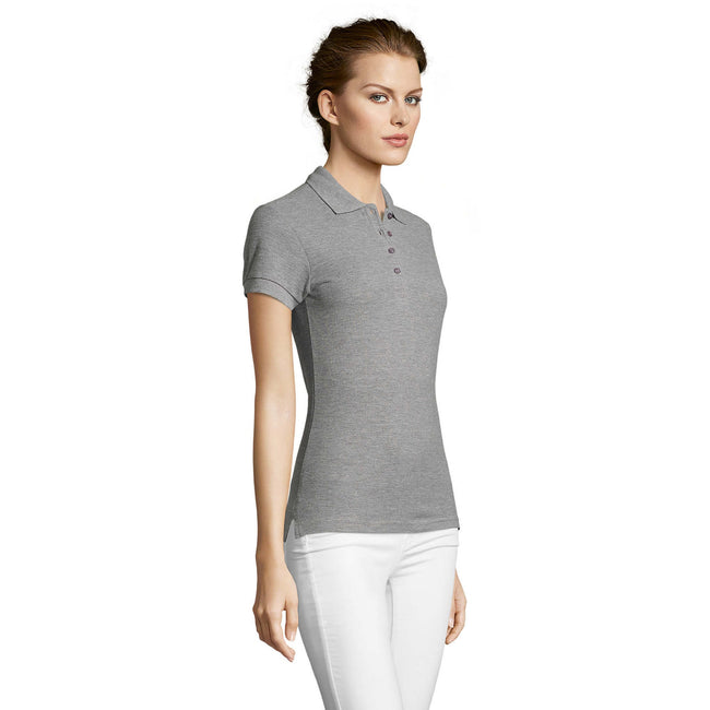 Rose - Side - SOLS - Polo manches courtes PEOPLE - Femme