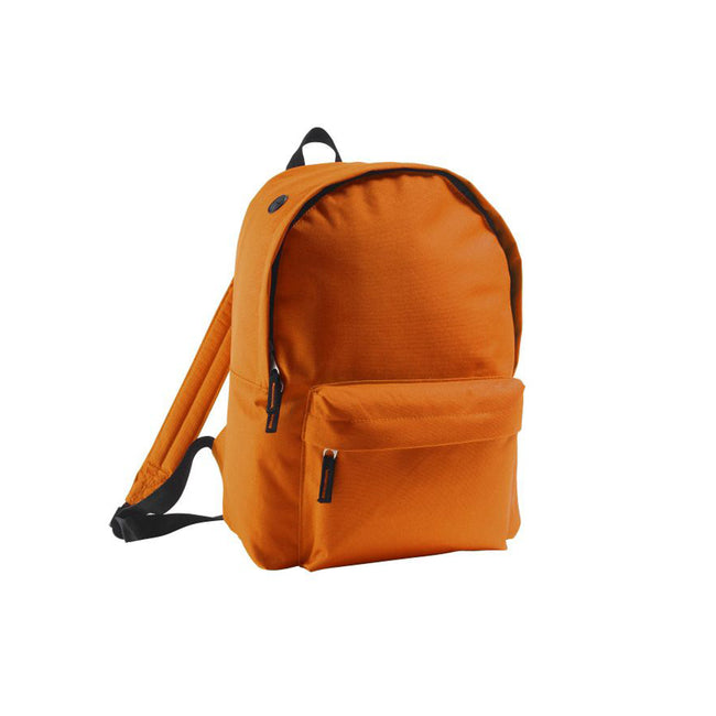 Orange - Front - SOLS Rider - Sac à dos
