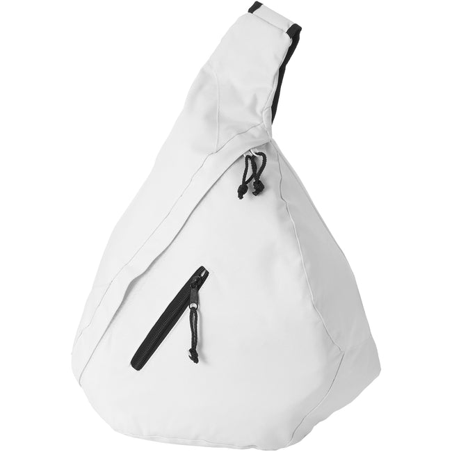 Blanc - Back - Bullet Brooklyn - Sac à dos mono-sangle