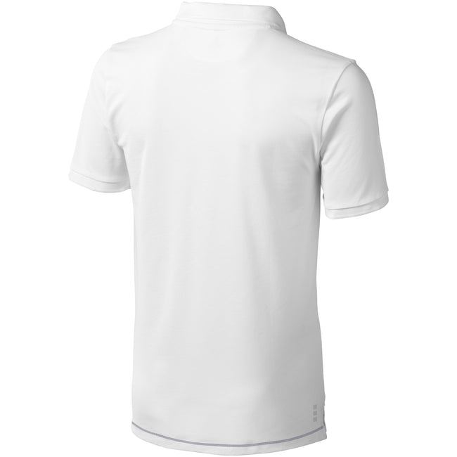 Blanc - Front - Elevate - Polo manches courtes Calgary - Homme