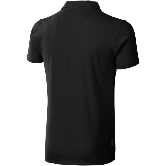 Anthracite - Back - Elevate - Polo manches courtes Markham - Homme