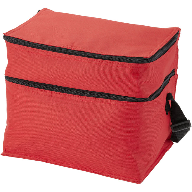 Rouge - Front - Bullet - Sac isotherme OSLO (Lot de 2)