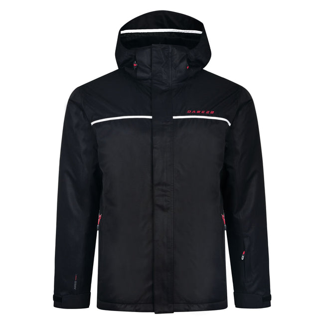 Noir - Front - Dare 2b Mens Steady Out Ski Jacket