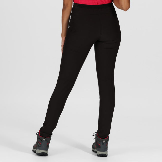 Noir - Side - Regatta - Pantalon en stretch PENTRE - Femme
