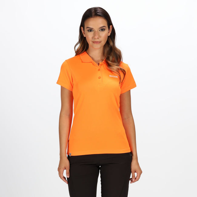 Orange - Side - Regatta Maverick IV - Polo - Femme