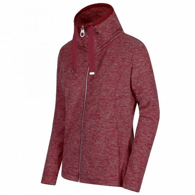 Bordeaux - Front - Regatta Great Outdoors Womens-Ladies Zabel Full Zip Fleece