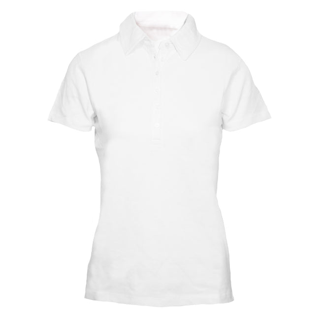 Blanc - Back - Skinni Fit - Polo - Femme