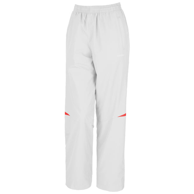 Blanc-Rouge - Side - Spiro - Pantalon de jogging - Femme