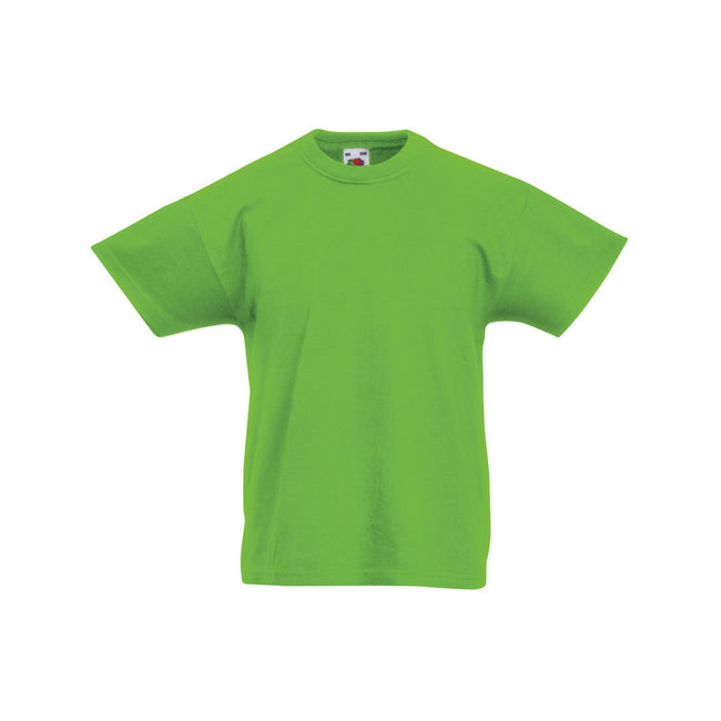 Graphite clair - Front - Fruit Of The Loom - T-shirt à manches courtes - Enfant unisexe