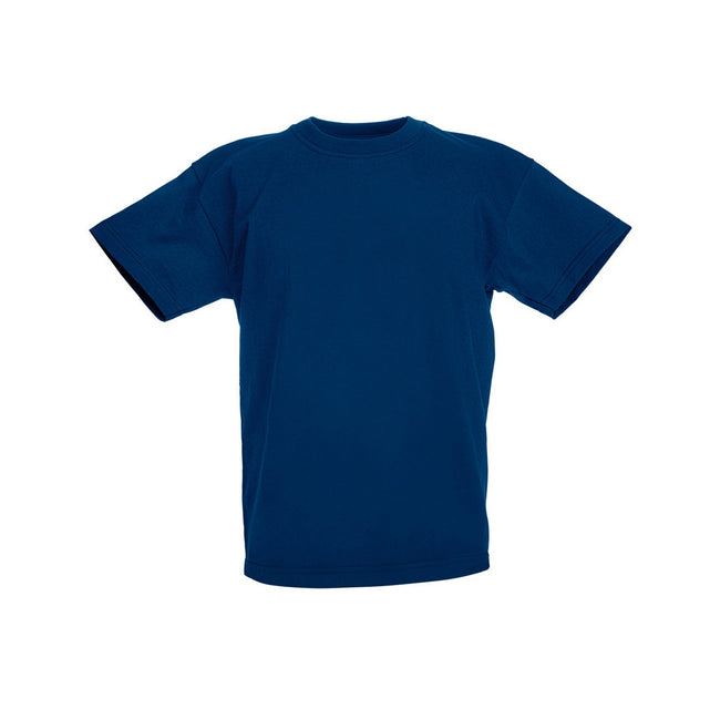 Bleu marine - Front - Fruit Of The Loom - T-shirt à manches courtes - Enfant unisexe