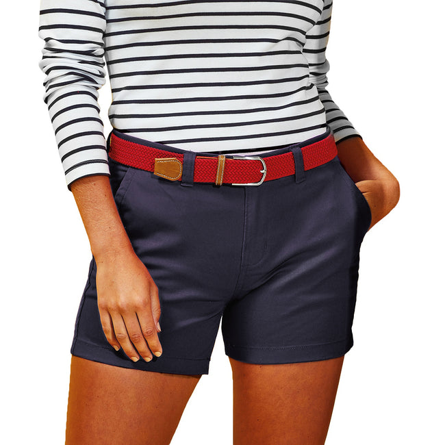 Blanc - Front - Asquith & Fox - Short - Femme