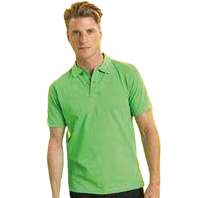 Jaune néon - Front - Asquith & Fox - Polo sport - Homme