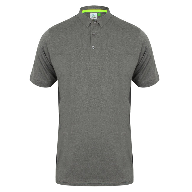 Gris - Front - Tombo - Polo sport - Homme