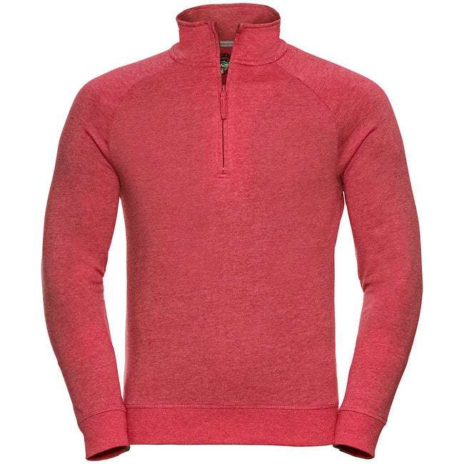 Rose marne - Side - Russell HD - Pull à col zippé - Homme