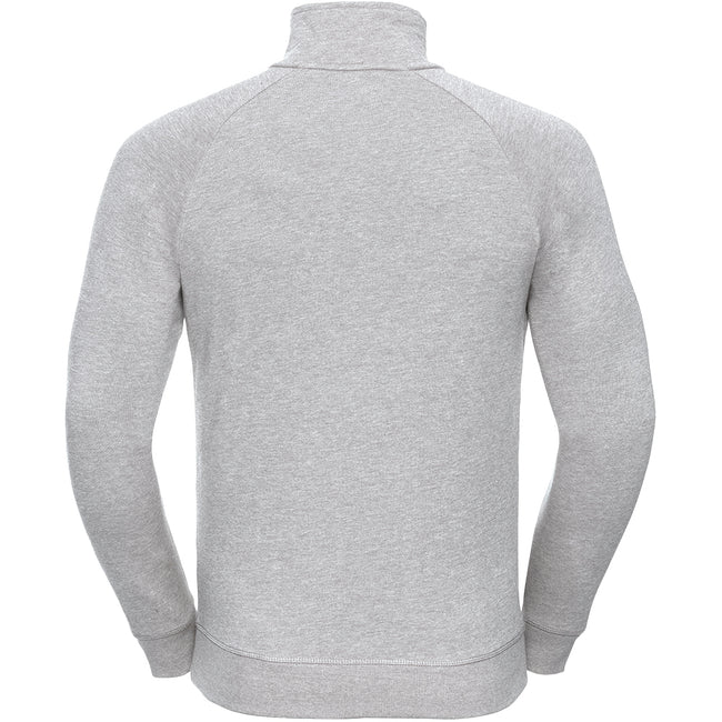 Blanc - Lifestyle - Russell HD - Pull à col zippé - Homme