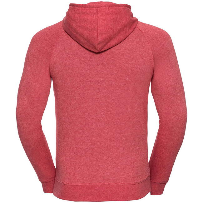 Rouge marne - Front - Russell HD - Sweat à capuche - Homme