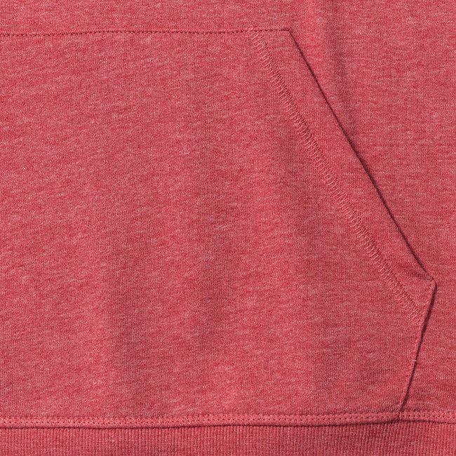 Rouge marne - Side - Russell HD - Sweat à capuche - Homme