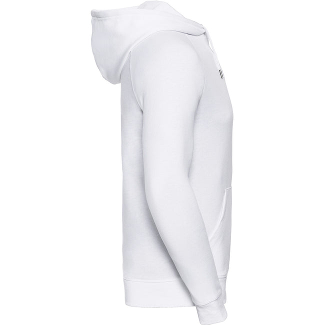 Blanc - Back - Russell HD - Sweat à capuche - Homme