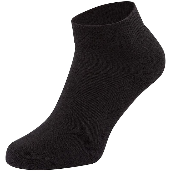 Noir - Front - Fruit Of The Loom - Chaussettes de sport basses (Lot de 3) - Homme