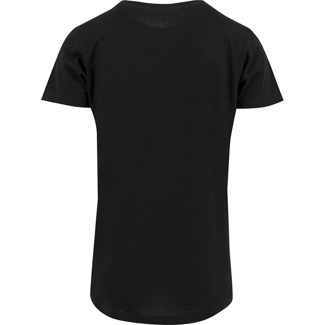 Blanc - Front - Build Your Brand - T-shirt long à manches courtes - Homme