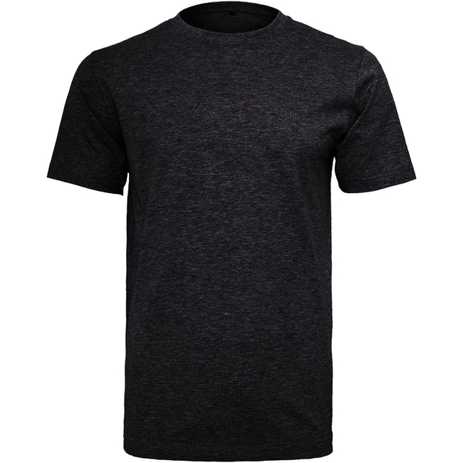 Noir - Front - Build Your Brand - T-shirt col rond manches courtes - Homme