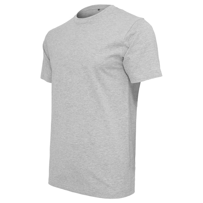Olive - Front - Build Your Brand - T-shirt à col rond - Homme
