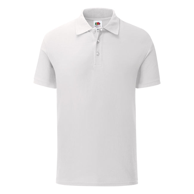 Blanc - Front - Fruit Of The Loom - Polo - Homme