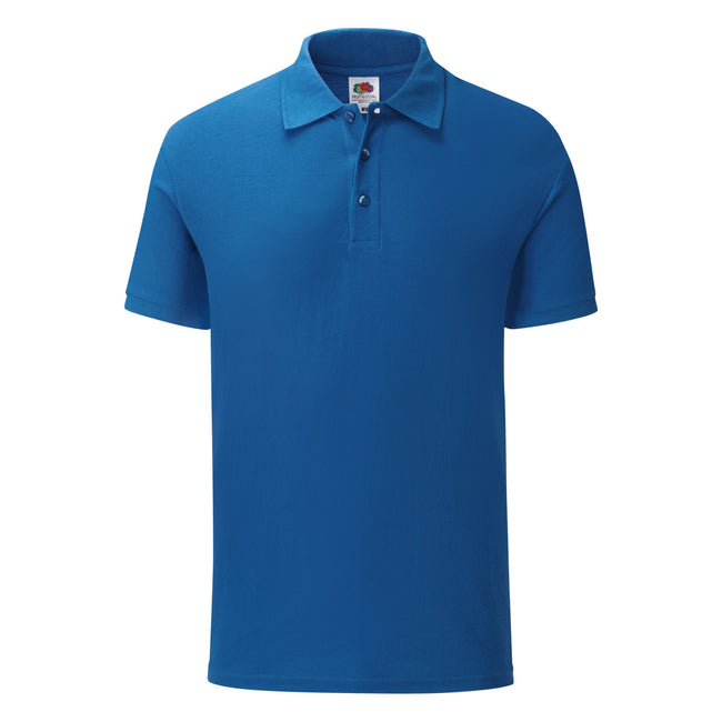 Bleu roi - Front - Fruit Of The Loom - Polo - Homme