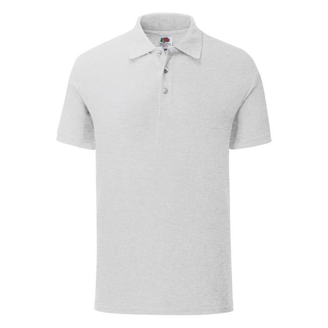 Gris claire - Front - Fruit Of The Loom - Polo - Homme