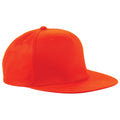 Orange - Front - Beechfield - Lot de 2 casquettes rétro  - Adulte