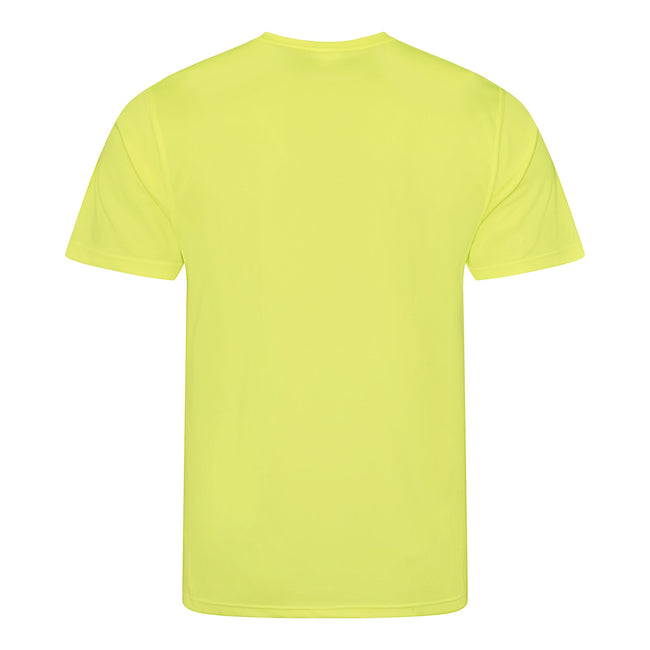 Vert bouteille - Front - Just Cool - T-shirt performance uni - Homme