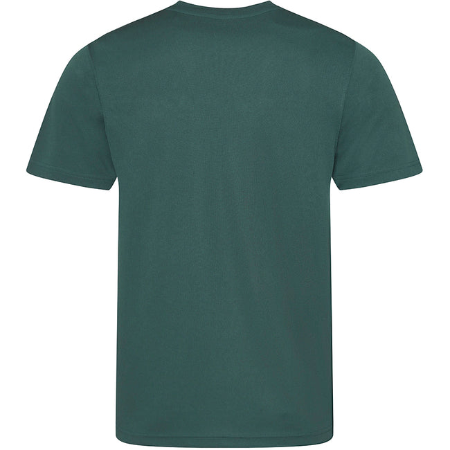 Vert bouteille - Back - Just Cool - T-shirt performance uni - Homme