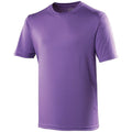 Violet - Front - Just Cool - T-shirt performance uni - Homme