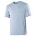 Bleu ciel - Front - Just Cool - T-shirt performance uni - Homme