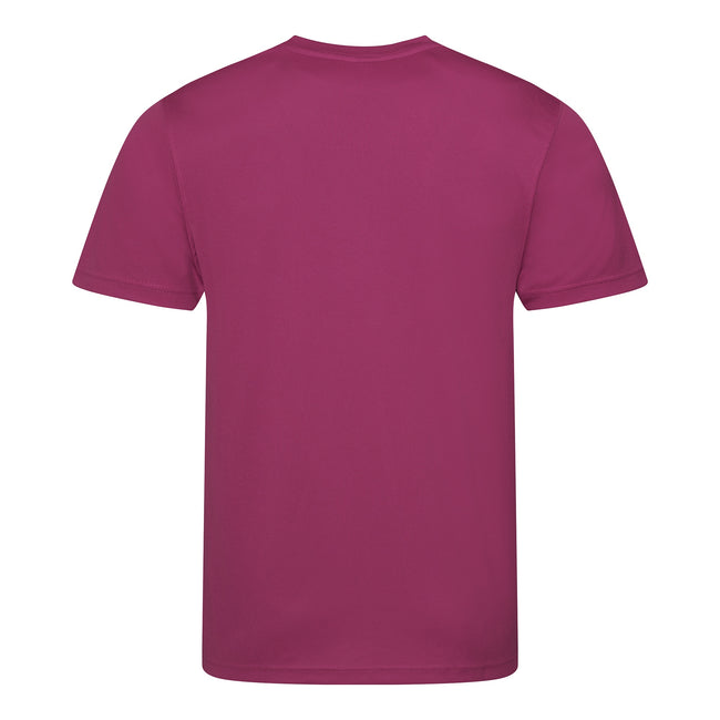 Rouge feu - Front - Just Cool - T-shirt performance uni - Homme