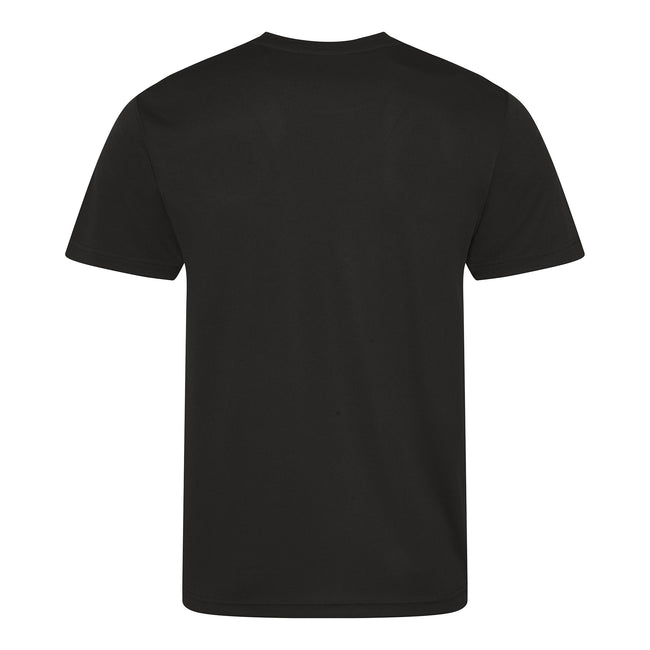 Bleu marine - Back - Just Cool - T-shirt performance uni - Homme