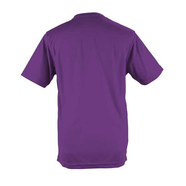 Vert tendre - Back - Just Cool - T-shirt performance uni - Homme