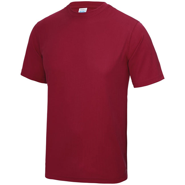 Rouge piment - Side - Just Cool - T-shirt performance uni - Homme