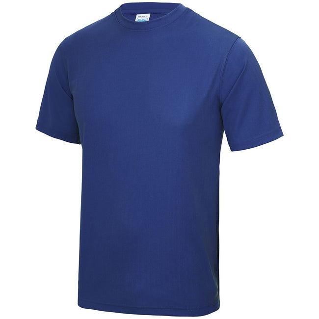 Bleu roi - Side - Just Cool - T-shirt performance uni - Homme