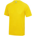 Jaune soleil - Side - Just Cool - T-shirt performance uni - Homme