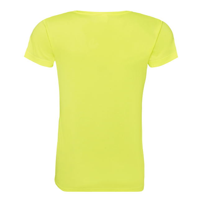 Rouge feu - Front - Just Cool - T-shirt sport uni - Femme