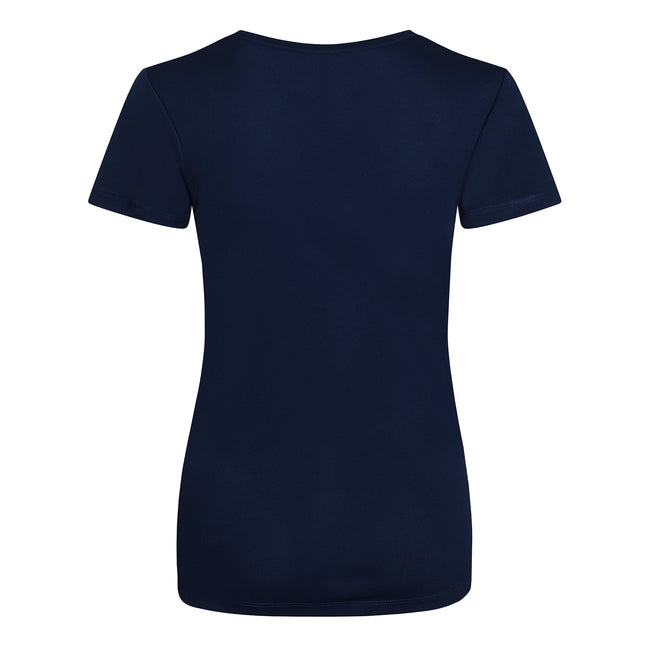 Bleu - Back - Just Cool - T-shirt sport uni - Femme
