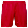Rouge - Front - Maddins - Short sport rayé - Enfant