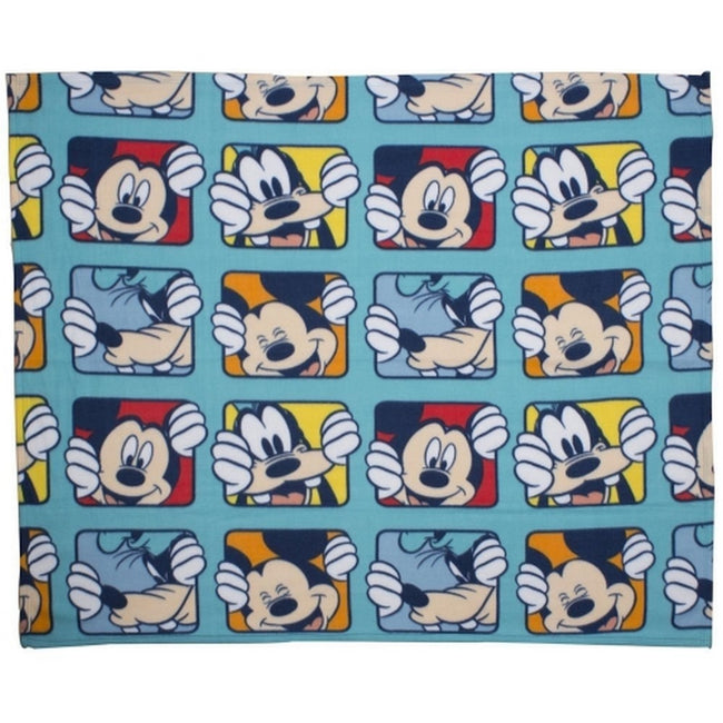 Multicolore - Front - Mickey Mouse - Couverture polaire