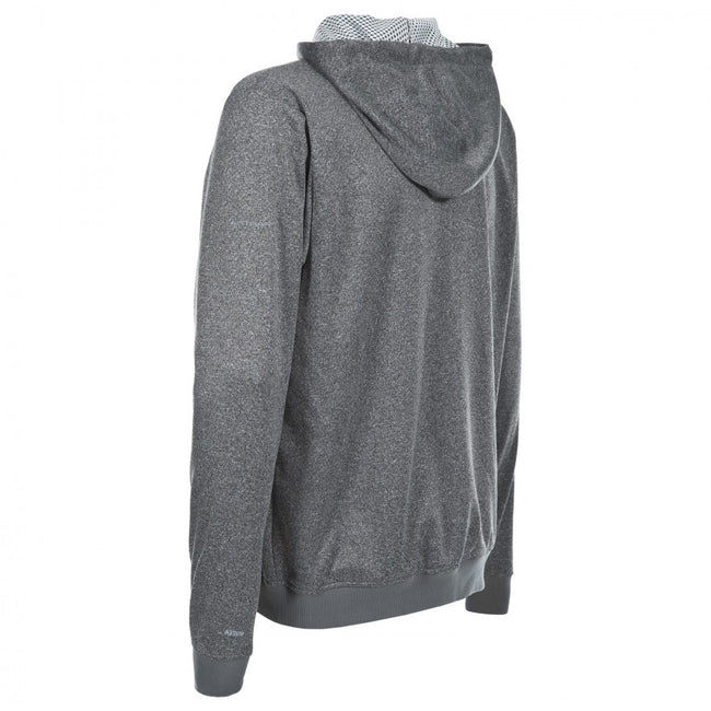 Gris marne - Back - Trespass Goodman - Sweat à capuche et fermeture zippée - Homme
