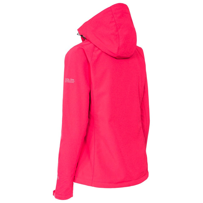 Rose - Back - Trespass - Veste softshell BELA - Femme